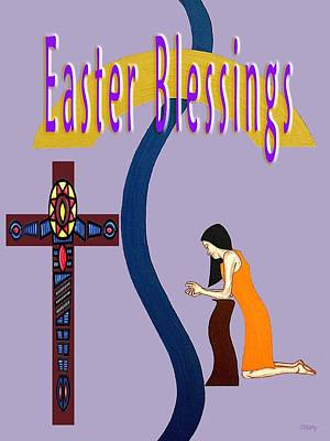 Religious Art Mixed Media - Easter 6 by Patrick J Murphy