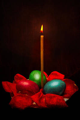 Easter Hope For Peace And Life Print by Alexander Senin