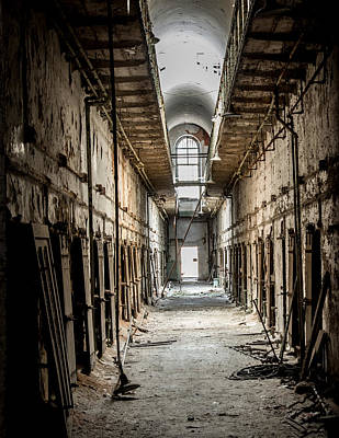 Eastern State Penitentiary Print by Jim DeLillo