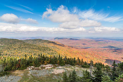 Mountain Photograph - Eastern Townships In Autumn by Pierre Leclerc Photography