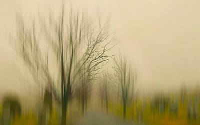 Abstract Movement Photograph - Easy On Me by Diana Angstadt