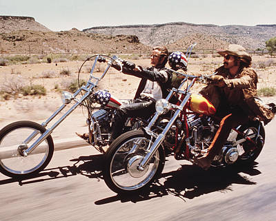 1960 Photograph - Easy Rider  by Silver Screen