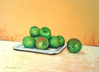 Apple Pastel - Eat Green by Katharina Filus