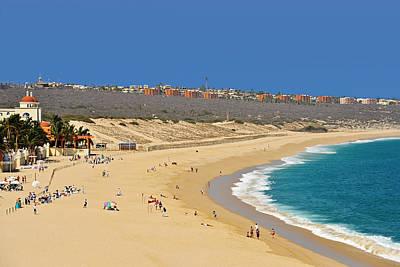 Beautiful Baja Beaches Print by Christine Till