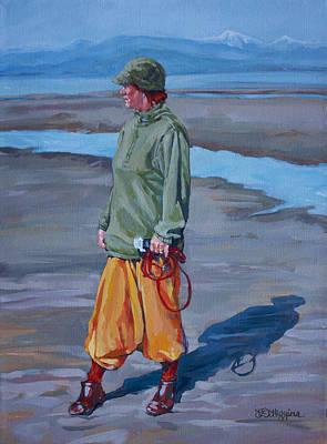 Ebb Tide Print by Derrick Higgins