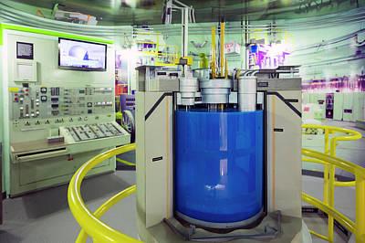 Ebr-ii Nuclear Reactor Replica Print by Jim West