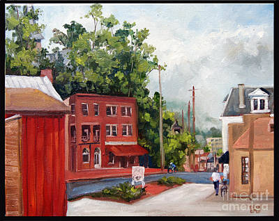 Edward Williams Painting - Ec Sat Morning by Edward Williams
