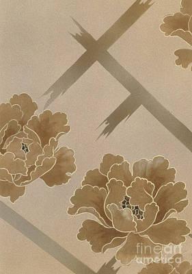 Geisha Digital Art - Echigo Dojouji Crop I by Haruyo Morita