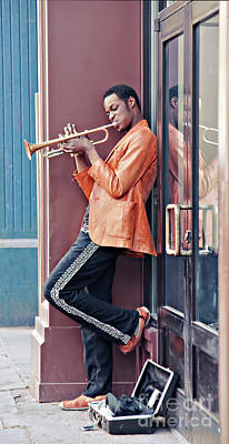 Jazz Musician Photograph - Echo by Catherine Fenner