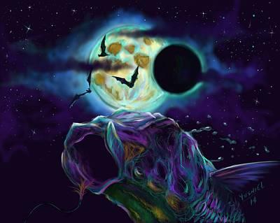 Eclipse Rush  Print by Yusniel Santos