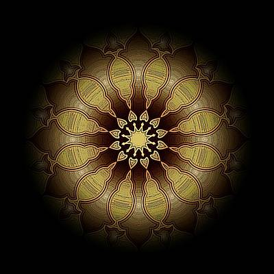 Mystic Drawing - Eclipsed Mandalas   340 by David Dehner