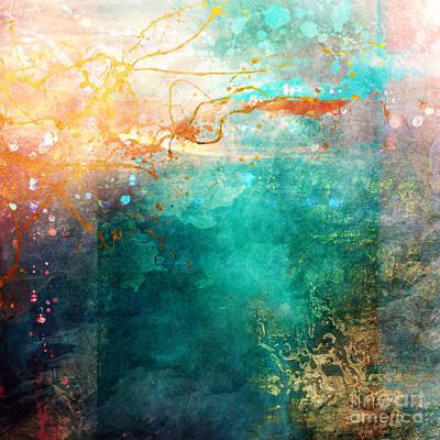 Gradient Digital Art - Ecstatic Variant 1 by Aimee Stewart