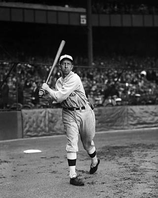 Eddie Collins Sr. Warm Up Swing Print by Retro Images Archive