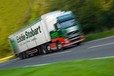 Eddie Stobart Lorry Print by Amanda And Christopher Elwell