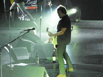Pearl Jam Photograph - Eddie Vedder-moline  by Gary Koett
