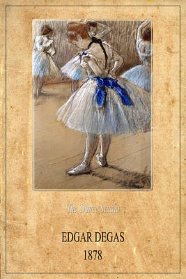 Dance Studio Photograph - Edgar Degas 1 by Andrew Fare