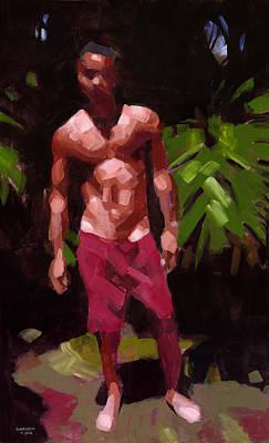 Edge Of The Forest Original by Douglas Simonson