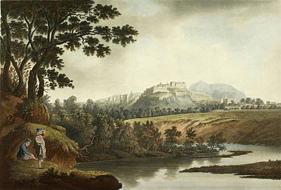 Edinburgh Castle Photograph - Edinburgh Castle From The Water Of Leith by British Library