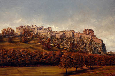 Edinburgh  Castle Original by Miroslav Stojkovic - Miro