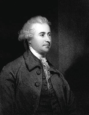 Edmund Burke Print by Collection Abecasis