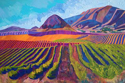Islay Painting - Edna's Morro Islay Hill by Jayne Schelden