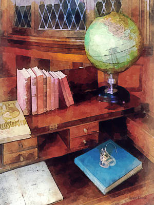 Education - Professor's Office Print by Susan Savad
