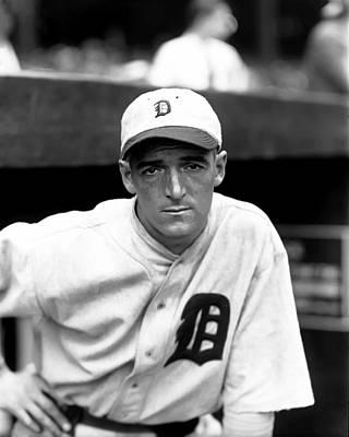 Detroit Tigers Photograph - Edward D. Eddie Phillips by Retro Images Archive