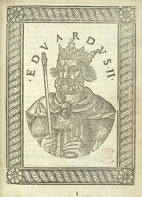 Portaits Photograph - Edward II by British Library