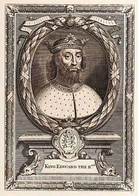 Edward II Print by Middle Temple Library
