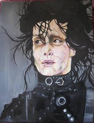 Edward Scissorhands Painting - Edward by Jan Harris Arduini