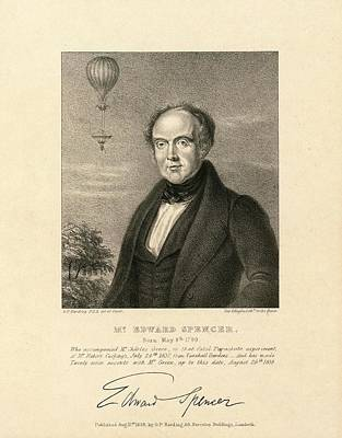 1839 Photograph - Edward Spencer by Library Of Congress