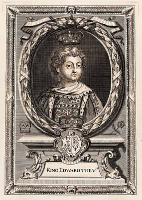 Edward V Print by Middle Temple Library