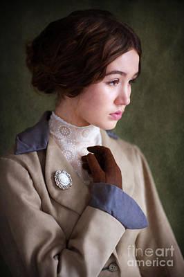 Edwardian Woman Portrait  Print by Lee Avison