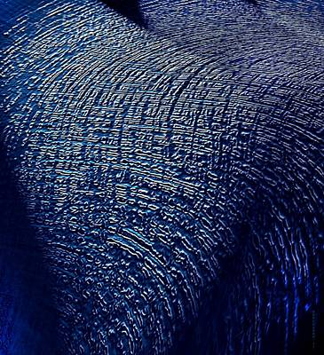Vertical Digital Art - Effect Texture by Mario Perez