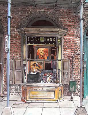 Egan Hand Art Gallery Original by John Boles