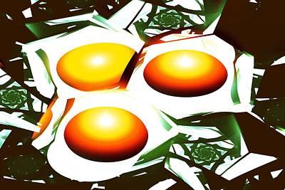 Eggs For Breakfast Print by Anastasiya Malakhova