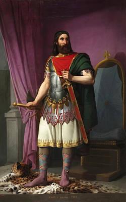 Antonio Maria Esquivel Painting - Egica King Of The Visigoths by Antonio Maria Esquivel