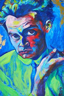 Egon Schiele Original by Melanie Pearson