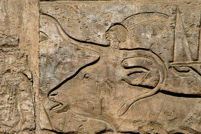 Egyptian Art Egypt Relief Print by Prisma Archivo
