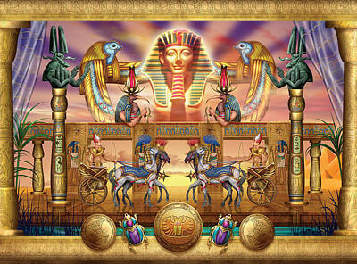 Hieroglyphs Digital Art - Egyptian by Ciro Marchetti