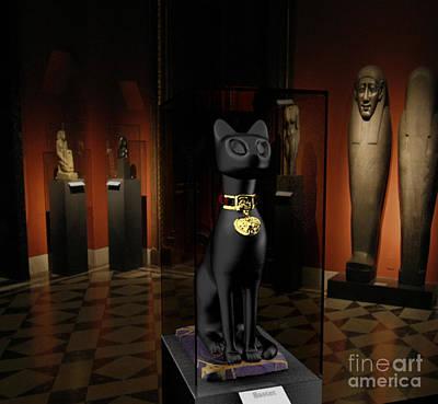 Goddess Digital Art Mixed Media - Egyptian Exhibition by Julio Haro