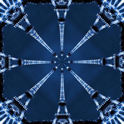 Towers Digital Art - Eiffel Art 21 by Mike McGlothlen