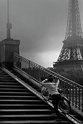 Eiffel Print by Sol Marrades