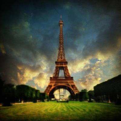 Impressionist Photograph - Eiffel by Taylan Soyturk