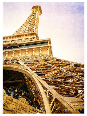 Iron Photograph - Eiffel Tower by Edward Fielding