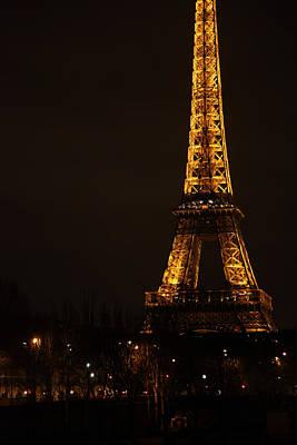 Eiffel Tower - Paris France - 011321 Print by DC Photographer
