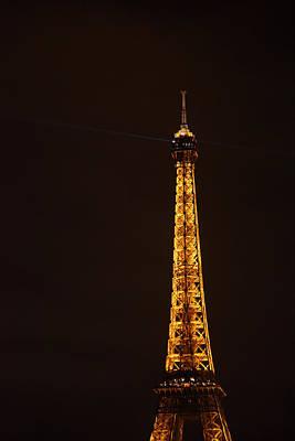 Iron Photograph - Eiffel Tower - Paris France - 011329 by DC Photographer