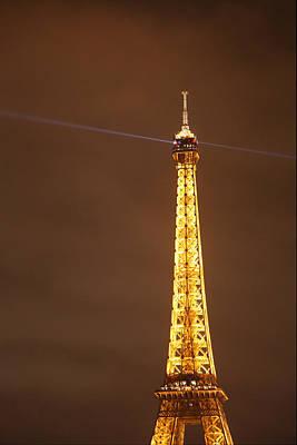 Iron Photograph - Eiffel Tower - Paris France - 011330 by DC Photographer