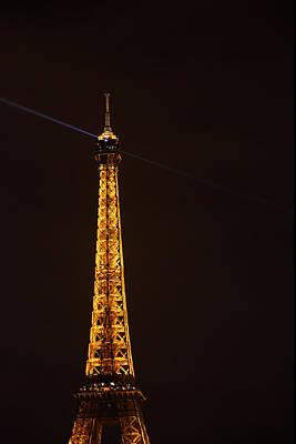 Eiffel Tower - Paris France - 011331 Print by DC Photographer