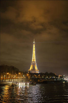 Iron Photograph - Eiffel Tower - Paris France - 011340 by DC Photographer
